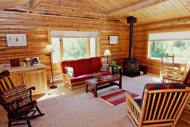 cabins sitting area
