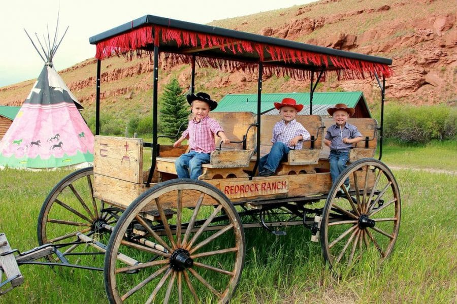 kids at Red Rock Ranch