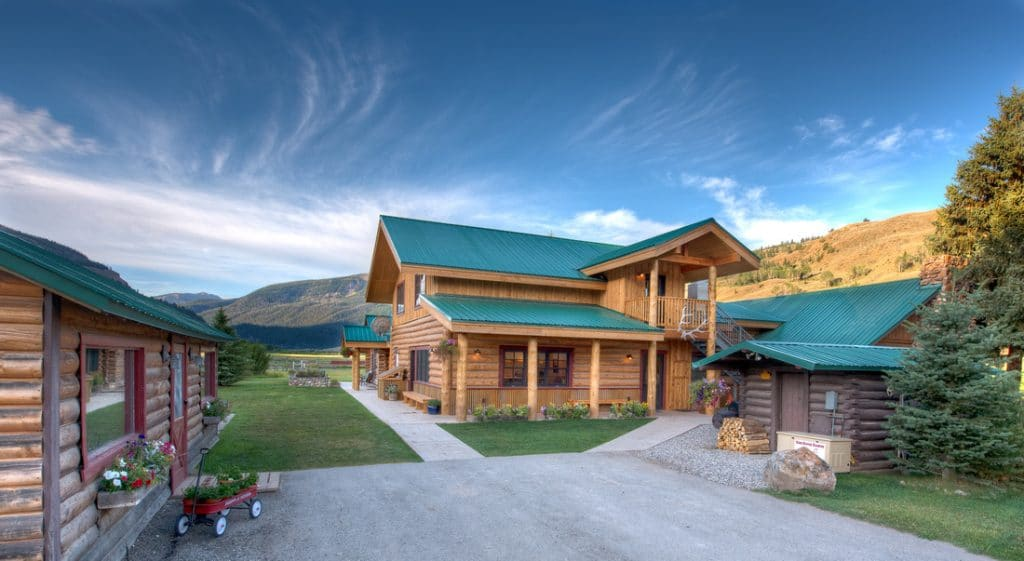 View of Red Rock Ranch Lodge