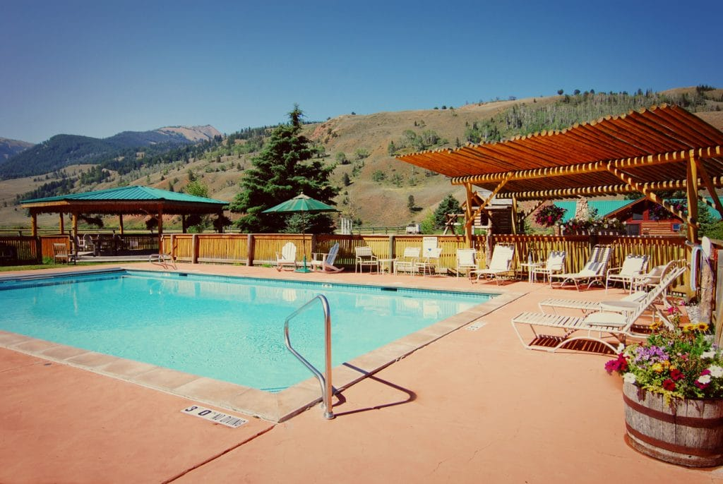 Swimming Pool at Red Rock Ranch