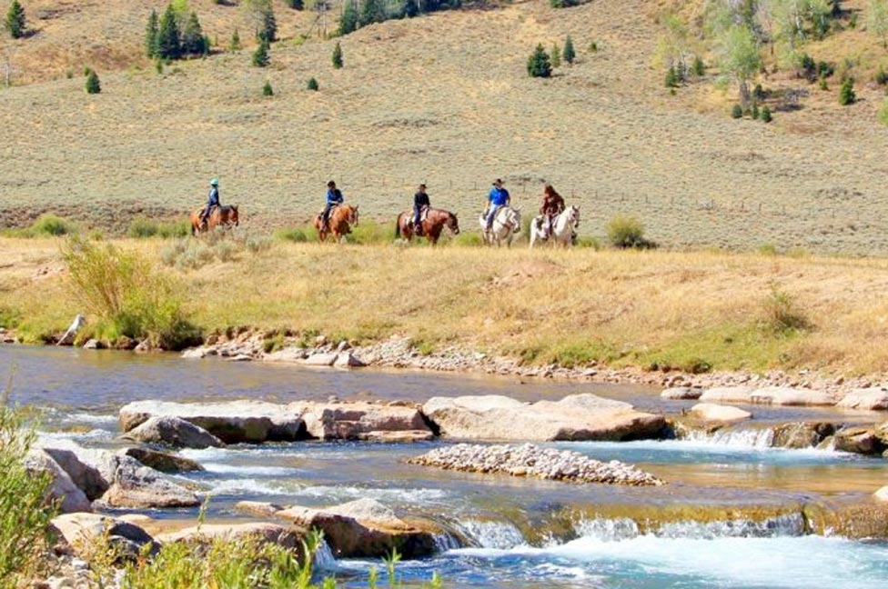 Adults Only Dude Ranch Wyoming Vacations