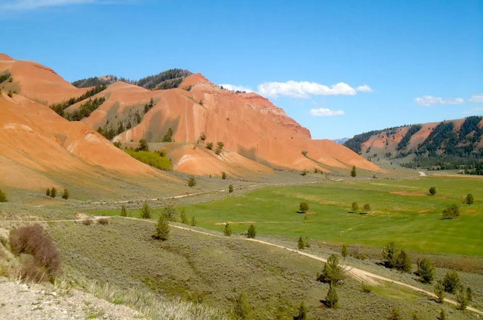 Best Wyoming vacation spots Red Rock Ranch
