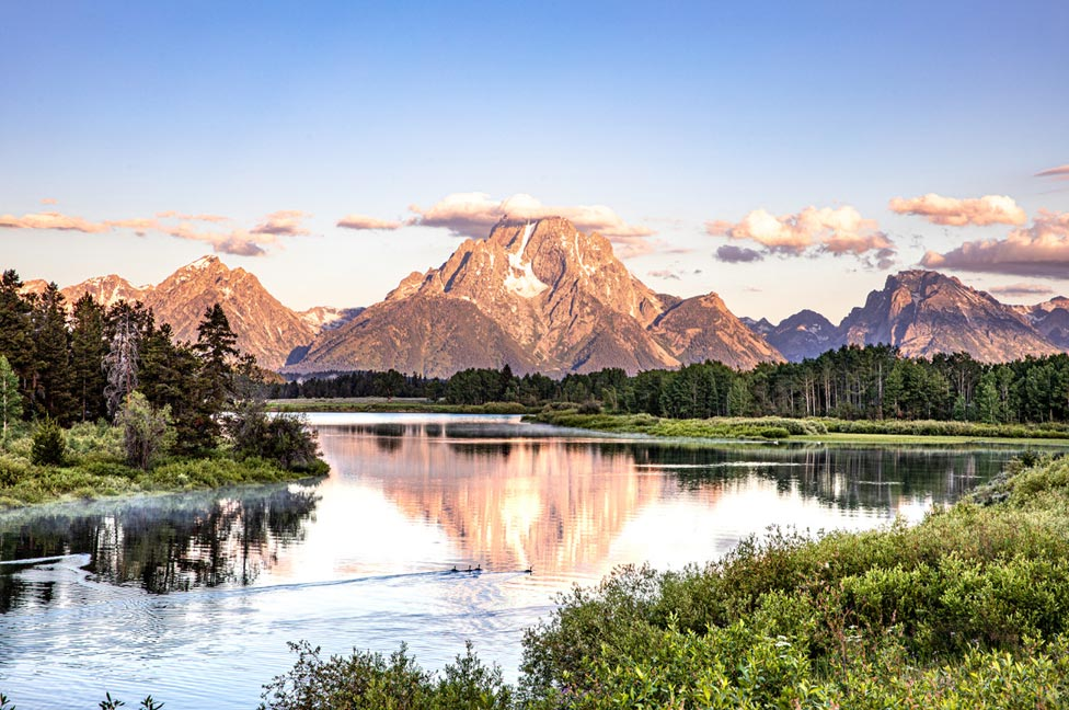 Grand Tetons by Jessica Lee